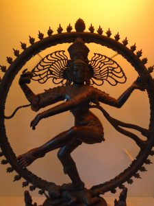 My first encounter with Shiva at the St. Mungo Museum of Religious Life and Art in Glasgow